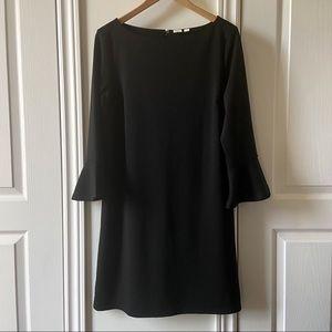 GAP Flute Sleeve Black Dress